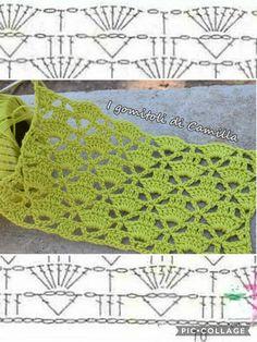 Libreria media ‹ I gomitoli di Camilla — WordPress - Best Pins Live Hexagon Crochet Pattern, Crochet Motifs, Crochet Diagram, Crochet Stitches Patterns, Crochet Chart, Free Crochet, Crochet Baby, Stitch Patterns, Knitting Patterns