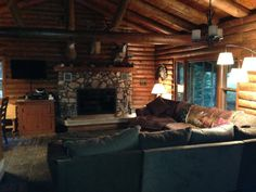 Phelps Vacation Rental - VRBO 497513 - 3 BR Northeast Cabin in WI, Whitetail Cabin, Log cabin, 3BR, Phelps, WI - 50 miles east of Boulder Junction, $225/night