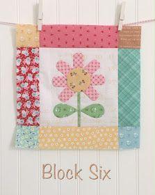 Bee In My Bonnet: BLOOM Sew Along - Week 6 - Block Six!!
