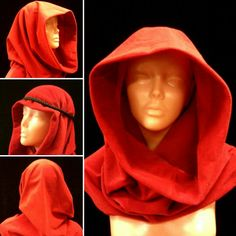 Kaptur z aksamitnej tkaniny, który w zależności od potrzeb mogę uszyć w innych kolorach. Idealny do cosplayów, sesji fotograficznych w fantastycznym klimacie. #kaptur #hood #nomada #postapo #waterworld #desert #unisex #starwars #gwiezdnewojny #comic #movie #photosession #kostium #costumedesign #komiks #bohaterka #fantasy #marajade #skywalker #woman #fantastyka