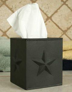 Decorative Tissue Box Cover Black Willow Tree Decorative Tissue Box Cover  Primitive Diy