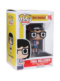 "<p>Tina Belcher is given a fun, and funky, stylized look as an adorable collectible vinyl figure!</p>  <ul> <li>3 3/4"" tall</li> <li>Imported</li> <li>By Funko</li> </ul>"