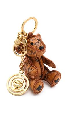 d01e40c08f68 MCM Heritage Bear Charm Keychain Butterfly Bags