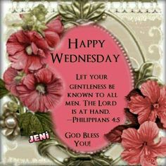May your Wednesday be blessed!!