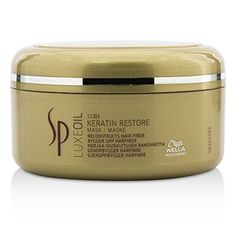 Wella SP Luxe Oil Keratin Boost Restore Mask - 150ml * Click here for more details @ http://www.amazon.com/gp/product/B00ECUYBI6/?tag=passion4fashion003e-20&mn=060816171214