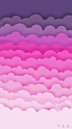 Pink Clouds Artistic Wallpaper - Im Pin Kawaii Wallpaper, Pink Wallpaper, Cool Wallpaper, Mobile Wallpaper, Pattern Wallpaper, Latest Wallpaper, Disney Wallpaper, Rain Wallpapers, Cute Wallpapers