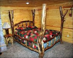 Resultado de imagen para muebles rusticos de madera cocina