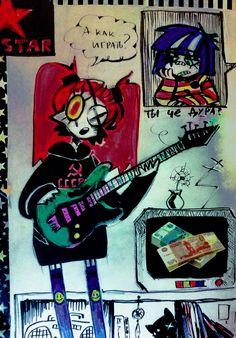 Cute Art Styles, Cartoon Art Styles, Kawaii Drawings, Cool Drawings, Emo Art, Grunge Art, Arte Sketchbook, Funky Art, Kawaii Art