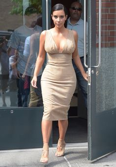 "Kim Kardashian's Body .... She has never shied away from the spot light ....Her ASS is THE ASS that started the ""Booty Ascendancy"" .... BUT look at that Chest Double D Cup .....she personifies Hollywood's Gift to the World the ""Hourglass Shape""....She is a Icon for her Body....Edwin (says me! LOL!)"