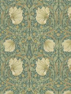 Pimpernel  is taken from Morris and Co's Morris Archive Wallpapers wallpaper collection.