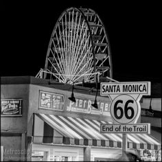 Neat website of Black and White prints of Los Angeles