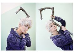 Jack Frost cosplay by *Kawaielli on deviantART