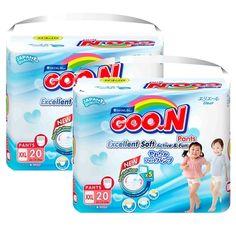 Mua ngay Bộ 2 gói tã quần Goon Jumbo XXL20 (15-25 kg) chính hãng giá tốt tại Lazada.vn. Mua hàng online giá rẻ, bảo hành chính hãng, giao hàng tận nơi, thanh toán khi giao hàng!