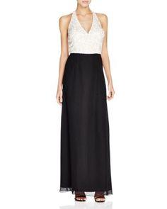 Aidan Mattox Beaded Bodice Gown | Bloomingdale's