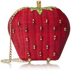 Betsey Johnson Strawberry Shoulder Bag, Red, One Size Betsey Johnson http://smile.amazon.com/dp/B00UDJ4QMG/ref=cm_sw_r_pi_dp_XnZFvb1PKH4HG