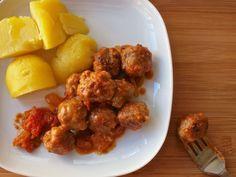 Mini Meat Balls in Tomato Sauce - Spanish Style