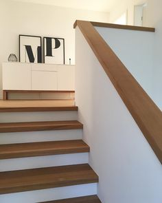 Garde Corps Design, Modern Stairs, House Stairs, Staircase Design, Stairways, Home Renovation, Architecture Details, Diy Design, Sweet Home