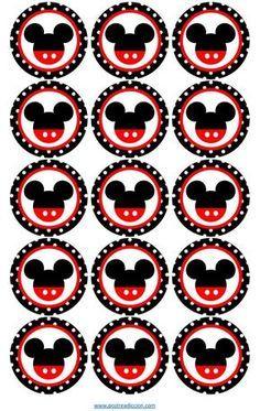 Risultati immagini per toppers mickey Mickey Mouse Stickers, Mickey Mouse Classroom, Fiesta Mickey Mouse, Mickey Mouse Bday, Mickey Mouse Clubhouse Birthday, Mickey Mouse Parties, Mickey Party, Mickey Mouse And Friends, Mickey Mouse Birthday