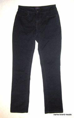 NYDJ Not Your Daughters Legging JEANS Womens 4 NORDSTROM Dark Wash Stretch #NotYourDaughtersJeans #Legging