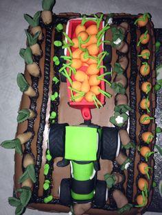 Landbouw Taart van bovenaf