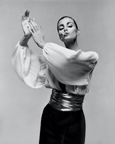 Apollonia van Ravenstein, Vogue Italia, 1980. Photo: Gian Paolo Barbieri.