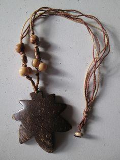 1 Halskette aus Brasilien Hippie Goa Schmuck nr.10 Samen Kokos Kette