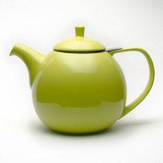 Curve Lime teapot