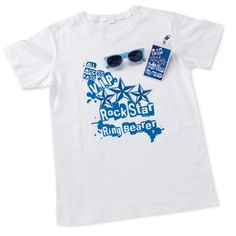 Rock Star Ring Bearer Shirt Set   Ring Bearer Gifts