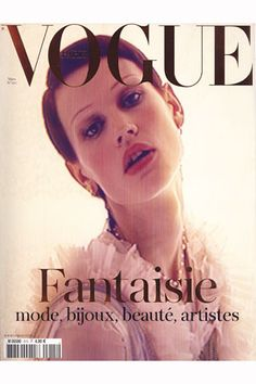 PARIS VOGUE - MARCH 2011 COVER MODEL - SASKIA DE BRAUW