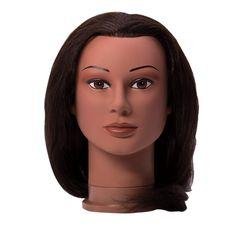 Miss Jenny Black Manikin Head