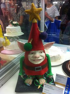 Decorative Themed Cake Jester Royal Melbourne Show 2014 Themed Cakes, Elf On The Shelf, Melbourne, Cake Decorating, Christmas Ornaments, Holiday Decor, Food, Home Decor, Theme Cakes