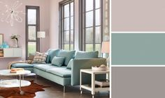 On conseille trois couleurs maximum pour une pièce