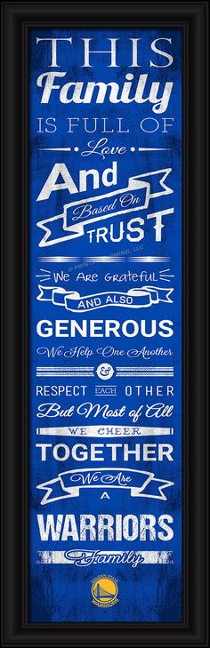 4865504999/848655049995/_A_ This full-color print features an inspiring message and lets everyone know who your family cheers for. The finished piece measures 24 x 8 inches…