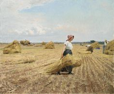 Victor Gabriel Gilbert Harvest painting is shipped worldwide,including stretched canvas and framed art.This Victor Gabriel Gilbert Harvest painting is available at custom size. Gabriel, Jean Leon, Romantic Paintings, Felder, Oil Painting Reproductions, Art For Art Sake, Fine Art, Western Art, Terra