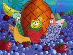File:Squidward, Spongebob, & Patrick (All As Different Fruit). Spongebob Tumblr, Spongebob Pics, Spongebob Patrick, Pineapple Under The Sea, Cartoon Memes, Pretty Wallpapers, Spongebob Squarepants, Cool Cartoons, Best Funny Pictures