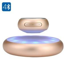 Levitating Bluetooth Speaker - 10 Meters Range, 5W Speaker, Rechargable Battery…