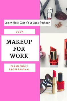 Learn how to get a perfect look that is professional, beautiful and will last all day. Using high-quality products and perfect finishing products to ensure you look flawlessly professional all day! #makeup #business #bossbabes