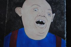 HEY YOU GUYS! Sloth from Goonies watercolor illustration by jillpetersenart on Etsy