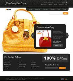 Handbag Store Magento Themes by Delta