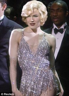 Outfits worn by Actress Renee Zellweger for her role as Roxy Hart in Chicago