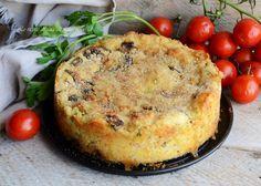 Torta patate e funghi,un delizioso piatto unico o secondo da gustare caldo o tiepido
