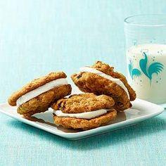 Oatmeal Sandwich Cookies for Breakfast?