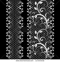 Find Vector Pattern Lace stock images in HD and millions of other royalty-free stock photos, illustrations and vectors in the Shutterstock collection. Lace Tattoo Design, Lace Design, Tattoo Designs, Design Design, Revolver Tattoo, Lace Drawing, Pattern Drawing, Geometric Pattern Tattoo, Abstract Pattern