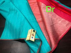 Presenting the most mesmerizing Kanchipuram handloom soft Silk Pattu saree from the house of Fashion Vibes. This is an exclusive pure Kanchipuram soft Silk Saree with beautiful alluring silver zari weaved vertical striped in all over the body. This beautiful and designer saree comes with a rich pallu and contrast blouse. Uniqueness, grandness, traditional look when wearing this beautiful saree. They will complement your personality to the highest note. This is Exclusive Pure Kanchipuram Silk…