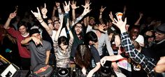 Red Bull - powering not only parties, but culture through the Red Bull Music Academy.