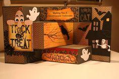 Halloween Tri Shutter Card