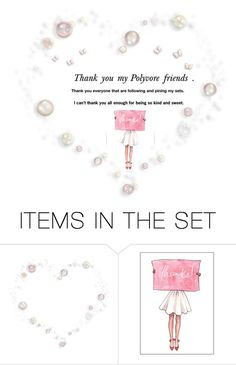"""Thank you my Polyvore Friends"" by krystalkm-7 ❤ liked on Polyvore featuring art"