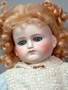 """23"""" Early Turned Head Antique German Turned Head by Alt Beck & Gottschalck Doll!"""