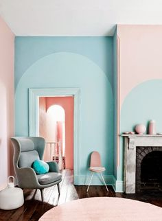 Monday Inspiration: Pastel rooms | haken's place