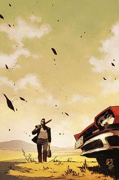 Dead Body Road by Justin Jordan (writer), Matteo Scalera (artist), and Moreno Dinisio (colorist)
